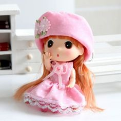 New-Korea-Pink-Hat-Ddung-Dolls-Backpack-Ornaments-Keychain-Girls-Party-Gift-12CM