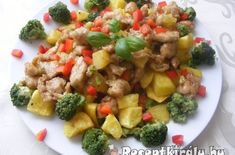 Brokkolis csirke pecsenye | Receptkirály.hu