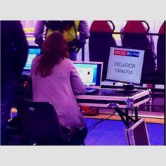 Digital signage.... Hecho en España Partido de liga europea