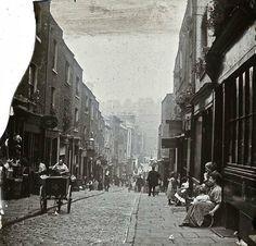 London street, 1890's