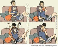 The couple that games together stays together :)