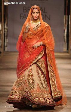 IBFW 2013 Tarun Tahiliani Bridal Wear Collection