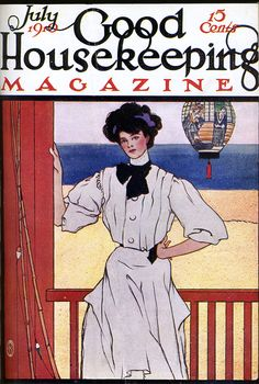Good Housekeeping Magazine cover, July 1910