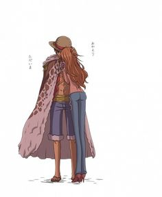 Nami x Luffy #luna #one piece