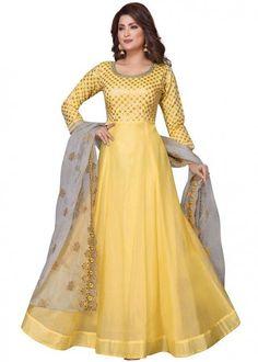 Designer Anarkali, Designer Gowns, Abaya Fashion, Indian Fashion, Salwar Kameez Simple, Floor Length Anarkali, Indian Party Wear, Indian Wear, Pakistani Dress Design