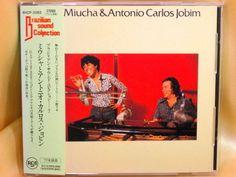 CD/Japan- MIUCHA & ANTONIO CARLOS JOBIM s/t w/OBI RARE EARLY 1992 OOP #LatinPopBossaNova