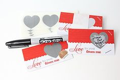 Product review for Valentines LoveNotes, Love Coupons, DIY Love Notes Scratch-Off Mini Cards Kit, Create your own Love Messages, Write your own Romantic Vouchers, Scratch Off Heart, (25 cards) My Scratch Offs -  Reviews of Valentines LoveNotes, Love Coupons, DIY Love Notes Scratch-Off Mini Cards Kit, Create your own Love Messages, Write your own Romantic Vouchers, Scratch Off Heart, (25 cards) My Scratch Offs. LoveNotes, Love Coupons, DIY Love Notes Scratch-Off Mini Cards Ki