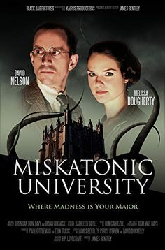Directed by James Bentley. With Melissa Dougherty, Theodore Copeland, Linda Elizabeth, David Nelson. A young professor takes a job at an isolated New England college carrying with him a dark curse. David Nelson, Mountains Of Madness, Call Of Cthulhu Rpg, Jazz, Lovecraftian Horror, Hp Lovecraft, Victorian Goth, Weird Stories, Creature Feature