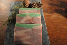 Applewood Fir Soap~ outdoor scented by PrettyPracticalSoaps on Etsy