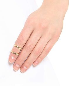 Jules Smith Double Up Midi Ring – Love & Pieces | Designer Online Jewelry Boutique