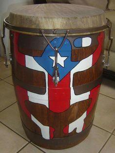 Barril de bomba Percussion Drums, Caribbean Art, Miles Davis, Salsa, Legends, Music Instruments, Activities, Heart, Ideas