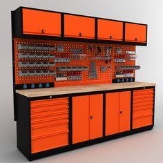 Easy Woodworking Projects, Diy Projects, Home Door Design, Tool Shop, Workshop Organization, Garage Shop, Ducati, Harley Davidson, Workbench Ideas