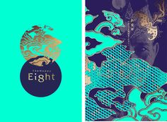 The Happy Eight Hotel Branding — The Dieline - Branding & Packaging