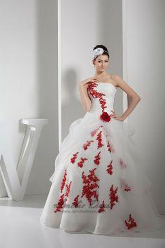 Unique Wedding Dresses With Color