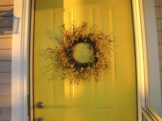 Editor Project: How to Paint Your Front Door! Learn how here: http://www.bhg.com/blogs/better-homes-and-gardens-style-blog/2012/10/05/editor-project-how-to-paint-your-front-door/