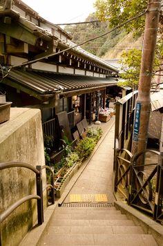 Enoshima, Kanagawa 江ノ島の町並み