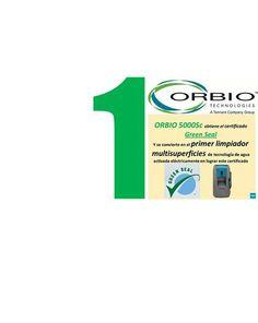 ORBIO 5000sc consigue el certificado Green Seal Personal Care, Certificate, Cleanser, Tecnologia, Self Care, Personal Hygiene