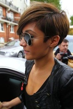 pixie hairstyle for thick hair