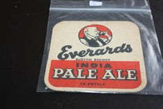 1962 Beermat Everards (Leicester) Cat 019 (2L97) 10/14)