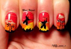 """Samurai duel"" Suki 02  #nails #notd #nailart #nailpolish #jindienails #nailstamping #nails2inspire #thenailartstory #craftyfingers #lovemanicure #prettynails #nailartwow #nailporn #naillove #nailitmag #nailartobsessed #nailaddict #nailswag #nailjunkie #nailartoohlala #nailbling #weloveyournailart #barbiefingers #nailpromote #glamorouspumps #iinailsart #amazing_pretty #sandgnails #queennails"