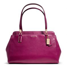 The Madison Kimberly Carryall In Leather from Coach