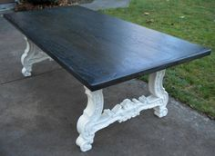 Fabulous vintage Italian Country table from Furnistalgia available on Etsy!  Amazing price. Great look!