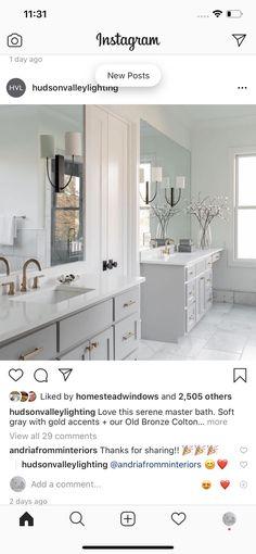 Double Vanity, Bathroom Lighting, Mirror, Furniture, Home Decor, Bathroom Light Fittings, Homemade Home Decor, Mirrors, Home Furnishings