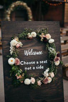 Flowers by Lace and Lilies, floral wreath, wedding flowers, bridal bouquet, blush, mauve, succulents, garden bouquet, grey suit, reception flowers, garland, denver wedding, blanc denver