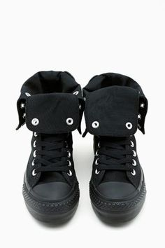Converse All Star High-Top Sneaker in Black