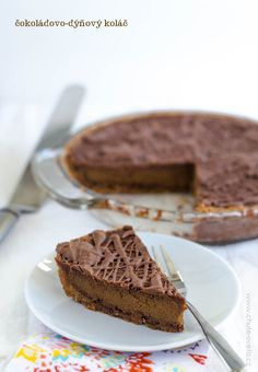 čokoládovo-dýňový koláč Paleo, Food And Drink, Sweets, Fine Dining, Chocolates, Sweet Pastries, Goodies, Candy, Treats