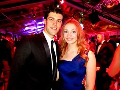 "So many great moments at LA Phil Opening Gala - Here are ABT star Roberto Bolle & Jackie Emerson of ""The Hunger Games"""
