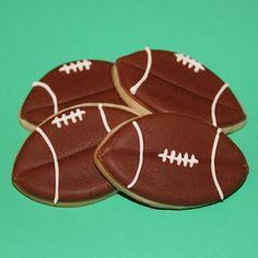 Baking In Heels: Football Cookies....