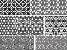 Seamless Islamic patterns II royalty-free stock vector art