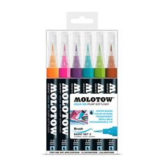The new way of painting with watercolor! This is the first Aqua Ink Pump Softliner with special ink