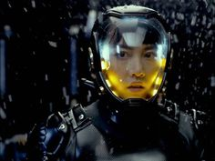 A screenshot of Mako Mori from Guillermo del Toro's hot-anticipated science fiction thiller, Pacific Rim. Science Fiction, Fiction Movies, Art Pulp, Rinko Kikuchi, Lynda Barry, Critique Film, Netflix, Rian Johnson, Films Cinema