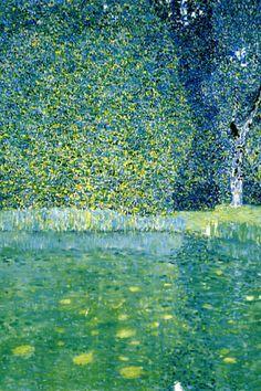 14m Gustav Klimt - Castle Pond