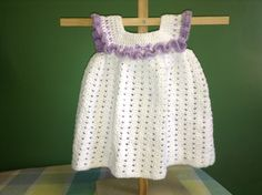 How to Crochet a Dress - easy and quick
