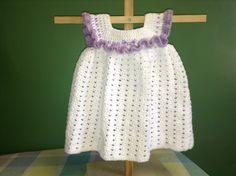 How to Crochet a Dress - easy and quick ✿⊱╮Teresa Restegui http://www.pinterest.com/teretegui/✿⊱╮