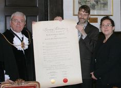 East Kent Mercury - signing of the Twinning Charter in Sandwich, UK