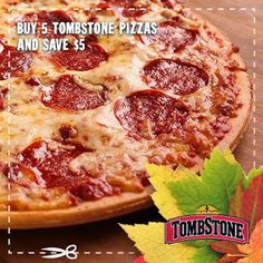 New Tombstone Frozen Pizza $5/5 Printable Coupon | SassyDealz.com