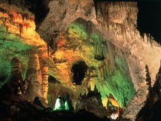 Calsbad Caverns, New Mexico - when we went here I wanted stay and live inside, so interesting!