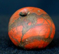 Neolithic Neolithique Jasper Bead - 6500 to 2000 Before Present - Sahara picclick.com