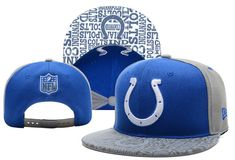 NFL Indianapolis Colts Fashionable Snapback Cap for Four Seasons