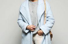 Snow wool coat Sora
