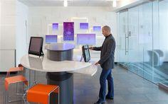 Microsoft Recruiting Lobby