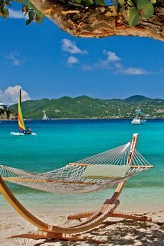 Relax in a hammock overlooking St. John and Great Bay. The Ritz-Carlton, St. Thomas (Saint Thomas Island, US Virgin Islands) - Jetsetter