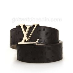 Louis Vutton Calfskin Leather Belt with Initial Buckle, Quality calfskin leather in coffee color exterior;Soft leather lining.Fine AAA grade item;hot selling in $95.00 with Free Shipping, Want to see other replica louis vuitton belts please click www.getwatchesale.com/cheap-louis-vuitton-belts-on-sale-cb290.html