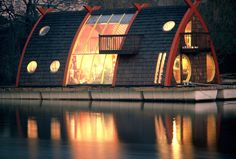 Stunning Houseboats for Aquatic Living - a whole article with a ton of gorgeous samples of dream homes.