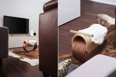 Wooden Rocking Horse Made with Recycled Copper Cables -  Federal Design House