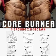 Core Burner Training ! Healthy Fitness Workout Plan - Yeah We Train !